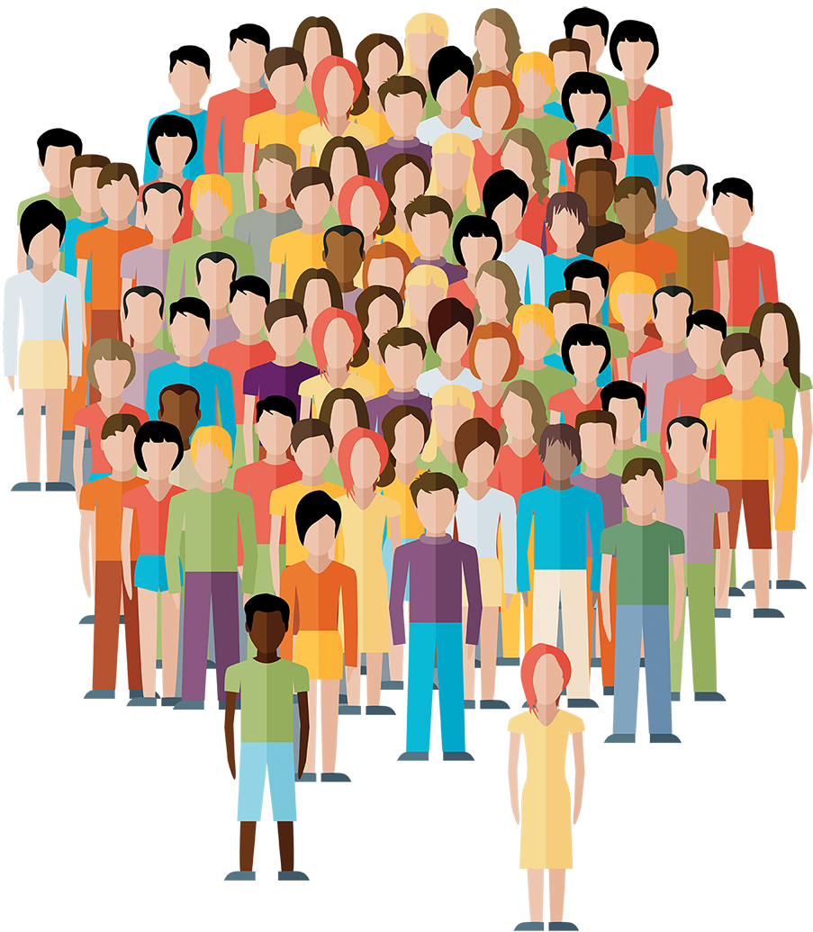 Group clip arts for. Crowd clipart free library