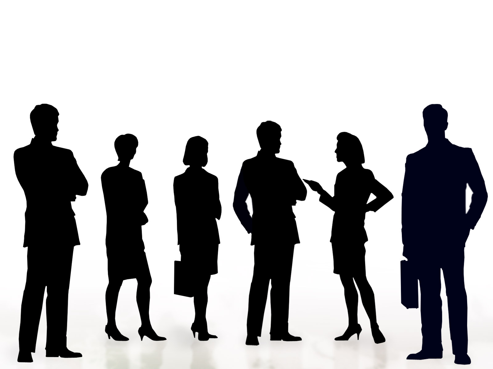 Crowd clipart shadow. Business people free