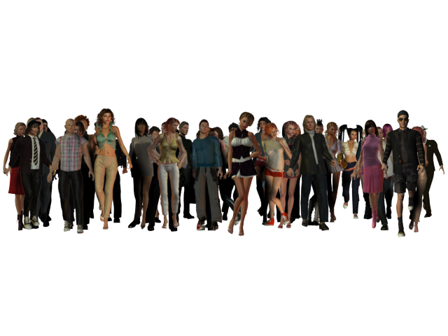 Crowd of people png. Images free download