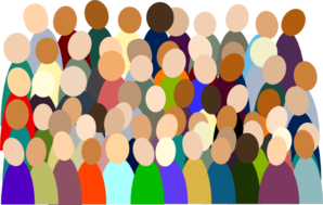 Crowd transparent clipart. Collection of free diagraphics