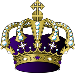 Purple art at clker. Crown clip clip art library stock
