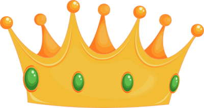 Crown clip. King art blue clipart