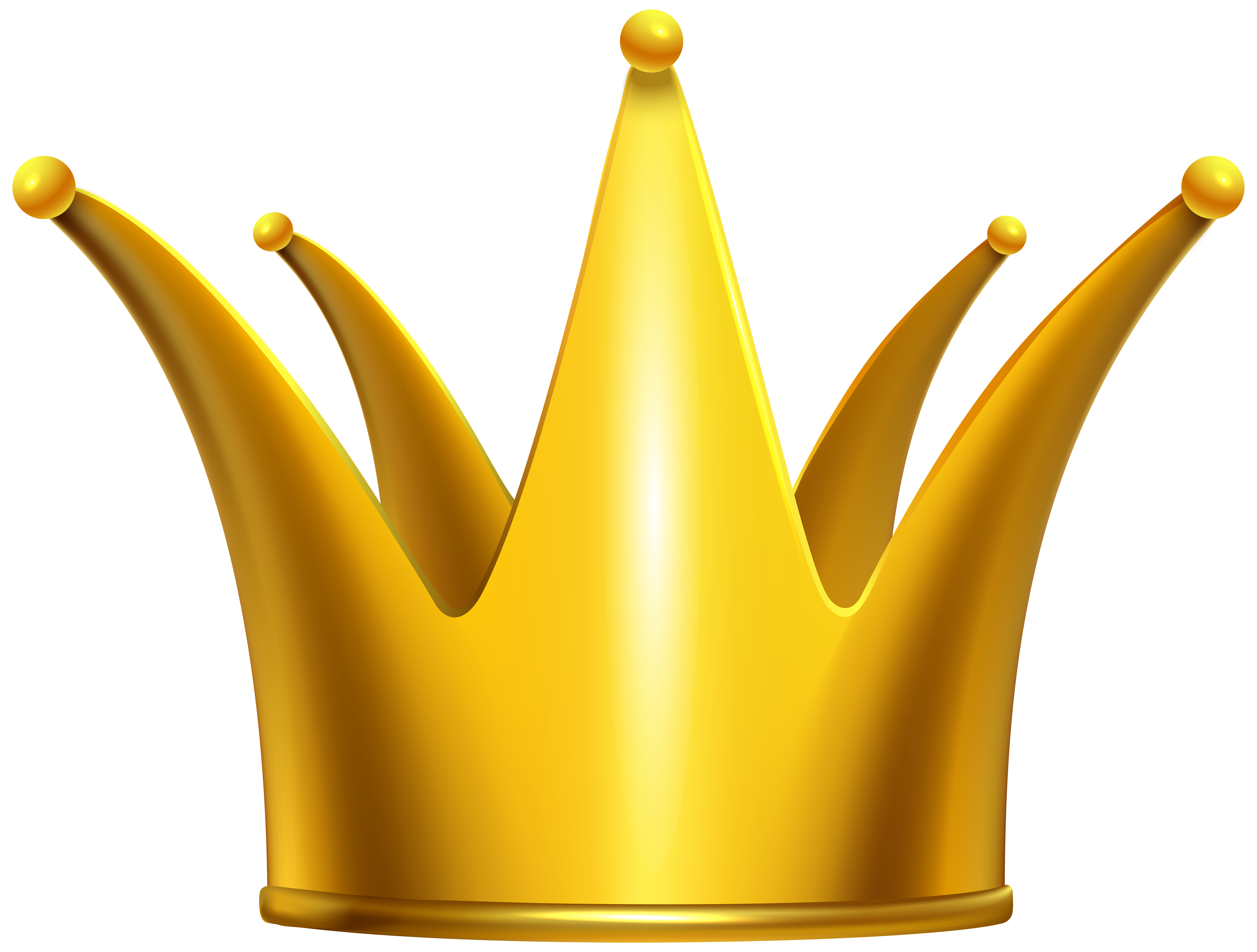 Golden image gallery yopriceville. Crown clip art png banner transparent library