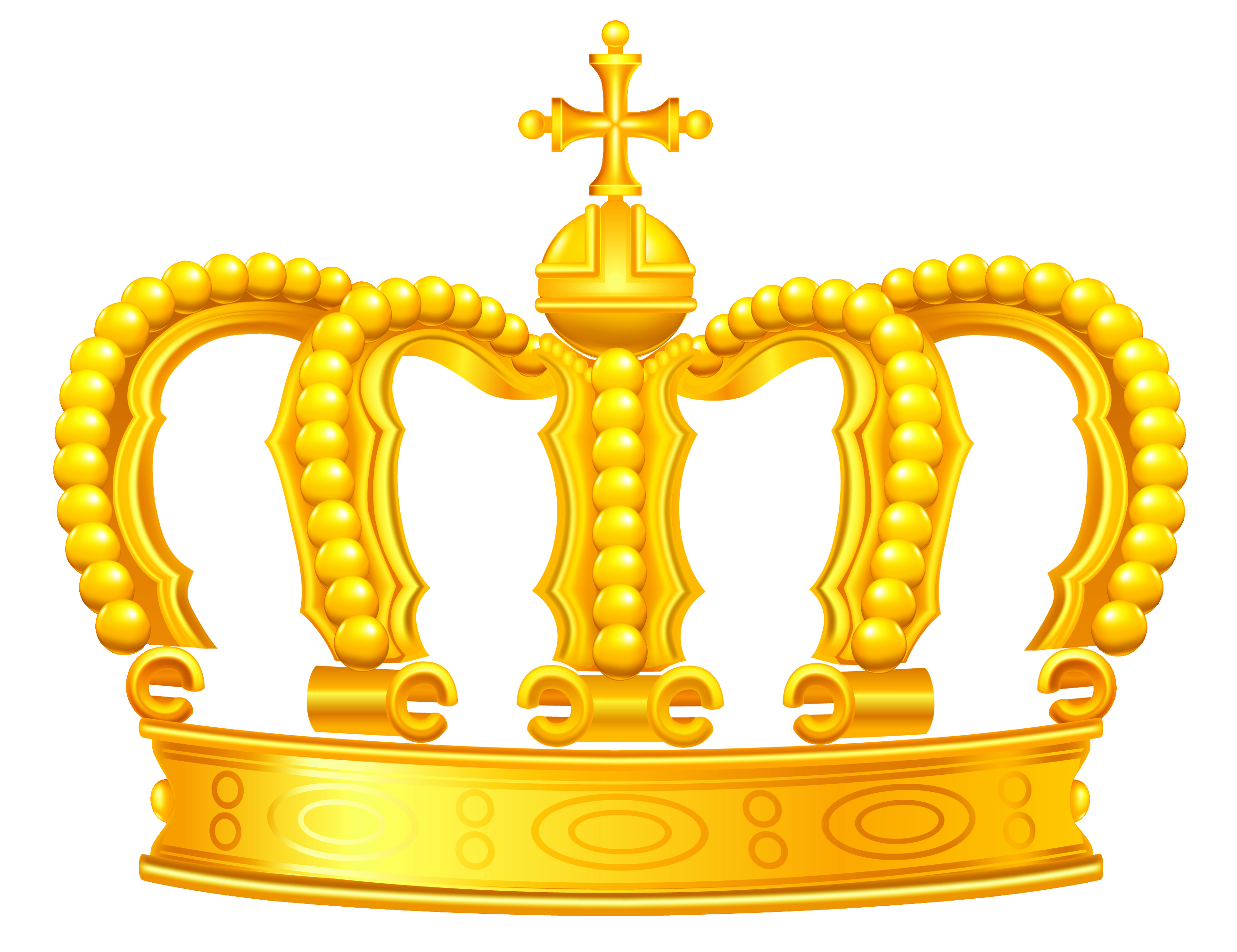 Gold clipart . Crown clip art png picture library library