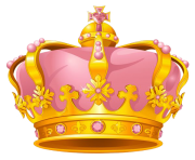 Transparent crowns rose gold. Crown png clipart free