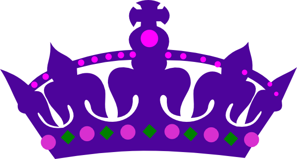 Purple queens art at. Crown clip queen's svg royalty free