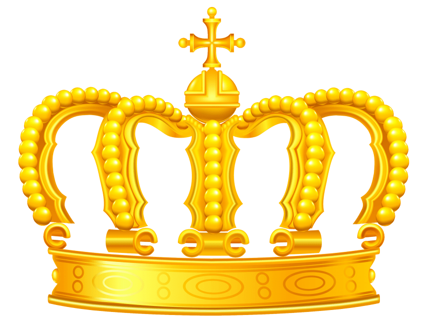 Crown clip royalty free. Commercial use picture library