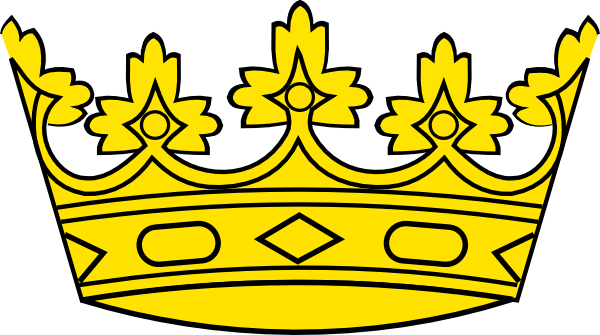 Crown clip royalty free. Clipart