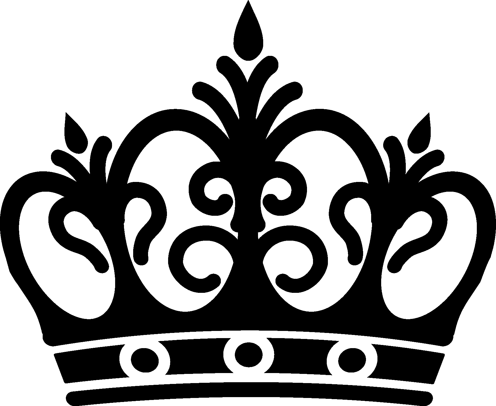 Crown clipart. New black gallery digital