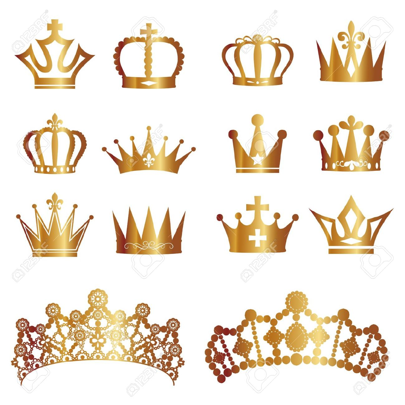 Crown clipart classy. Gold pencil and in