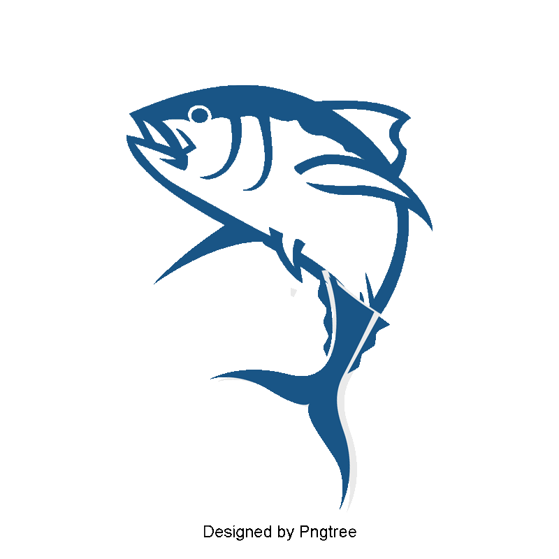 Cartoon logo marine png. Crown clipart fish graphic library