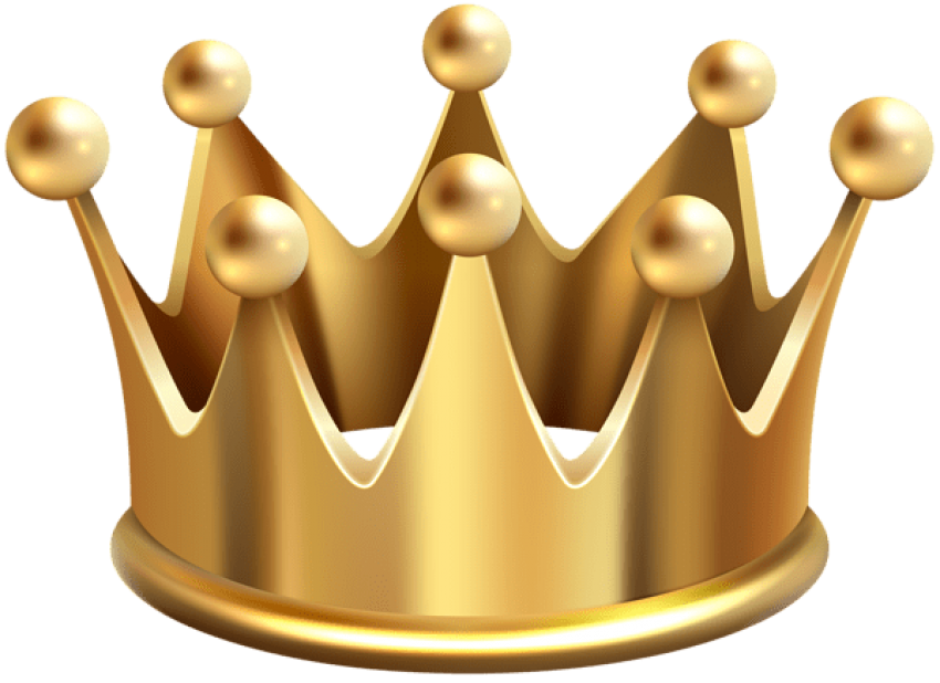 Crown clipart fish. Download gold png photo