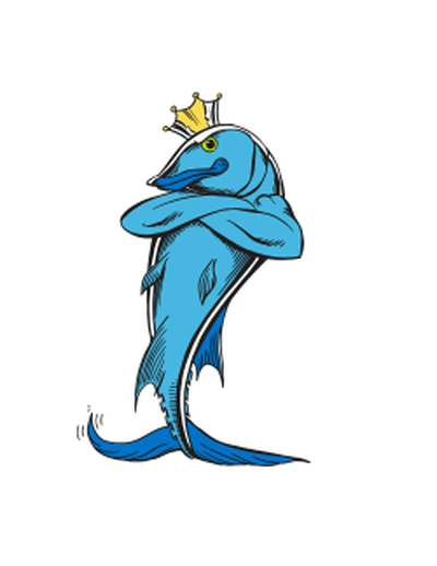 Crown clipart fish. With