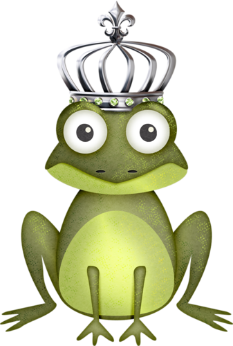 silver scrap for. Crown clipart frog vector free library