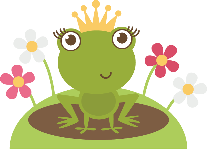 Crown clipart frog. Cute baby png transparent