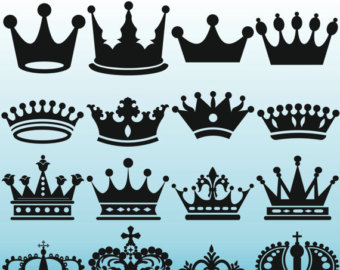 Crown clipart printable. Crowns clip art royal