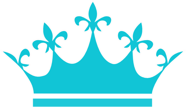 Clip art vector panda. Crown clipart queen crown banner black and white library
