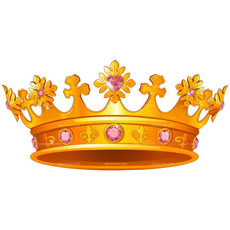 Crown clipart queen crown. Gold