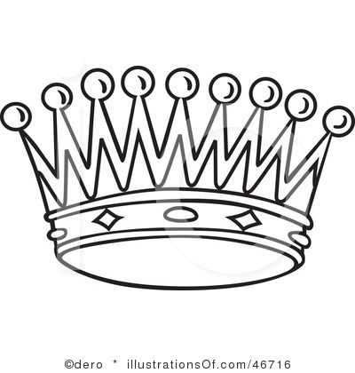 crown clipart sketch