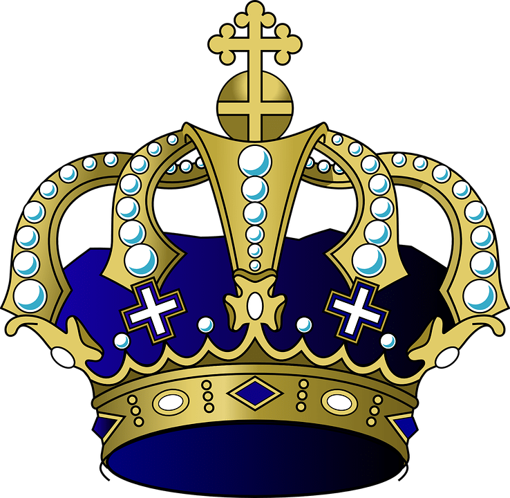 Crown crest clipart png. Cartoon transparent stickpng