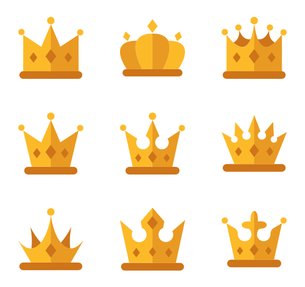 Crown icon png. Icons free vector