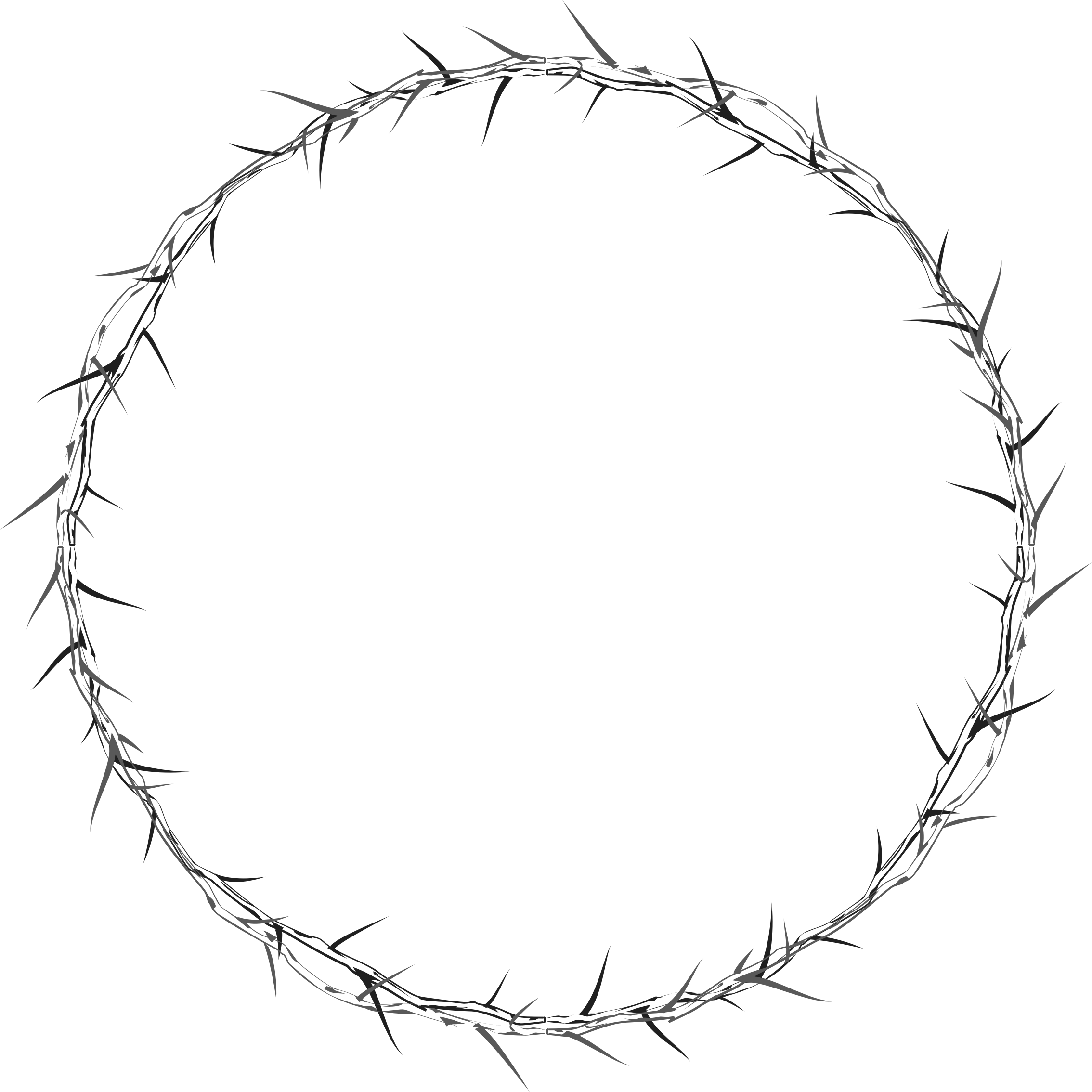 Thorns pattern png. Crown of icons free