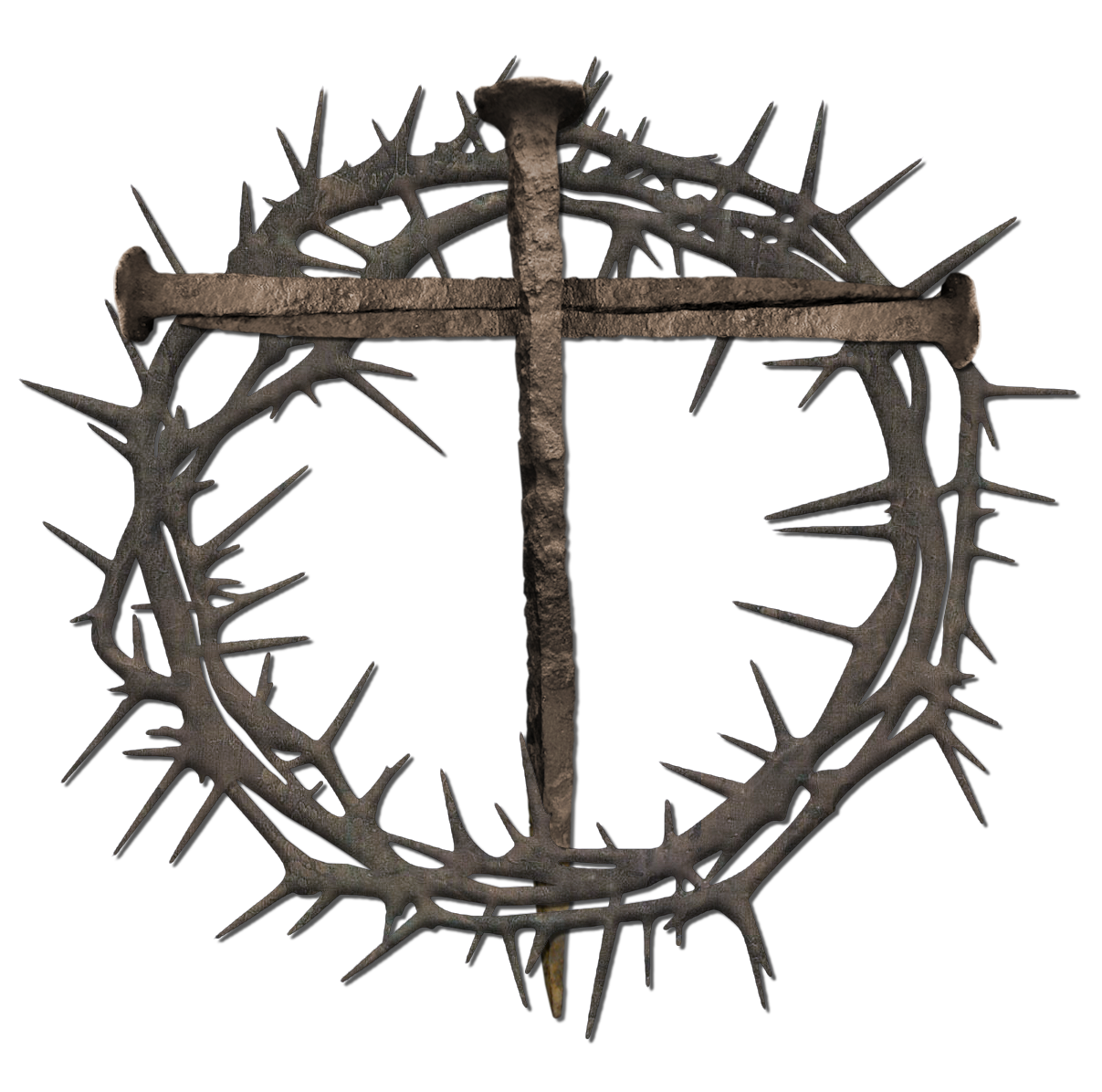Crown of thorns on cross png. File bing images pictures