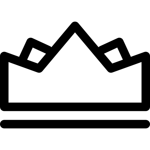 Crown outline png. Icon svg