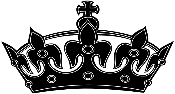 Crown png black and white. Collection of king