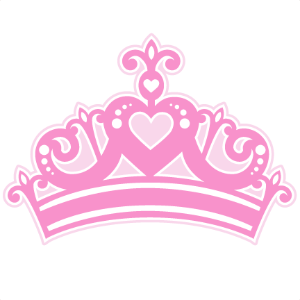 Crown princess png. Svg cutting file for