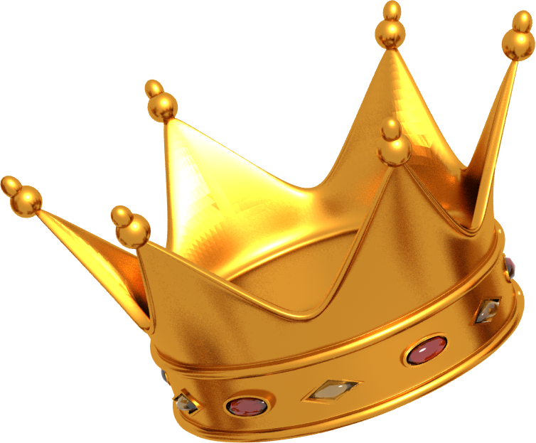 Crown transparent png. Image with background crowns