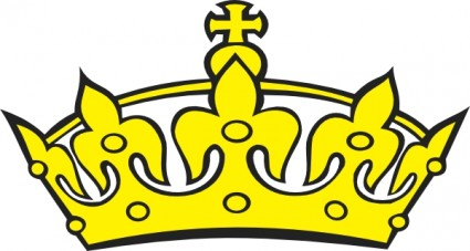 Crowns clipart. King and queen panda