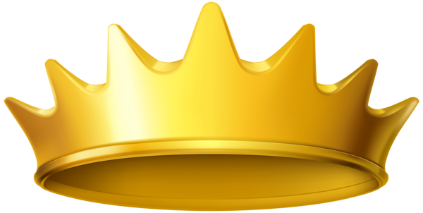 Crown clip wild things. Golden clipart png image