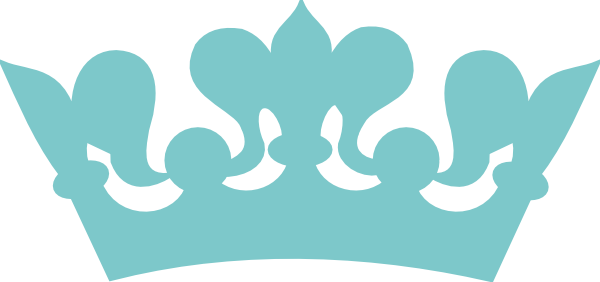 Blue crown png. Prince clipart