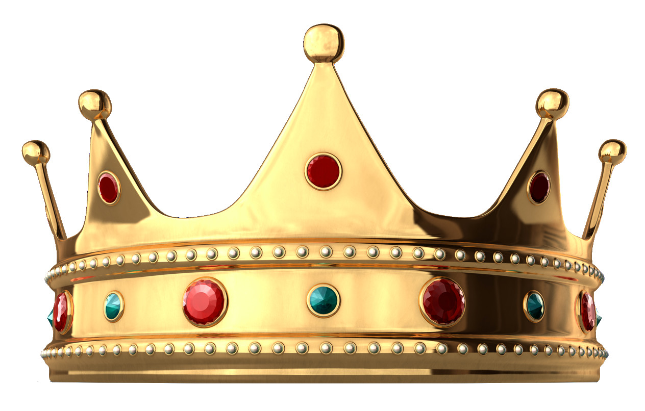Crowns clipart fancy crown. Gold with diamonds png