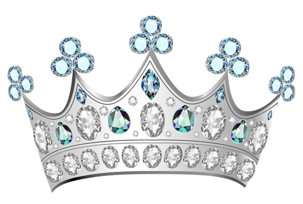 baby silver princess crown png