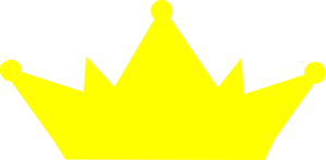 Crowns clipart yellow. Crown no outline clip