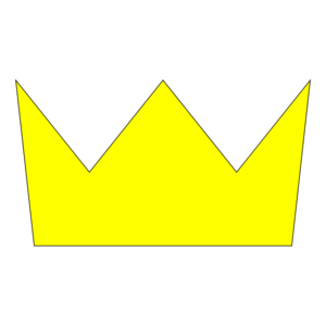 Crowns clipart yellow. Crown clip art at