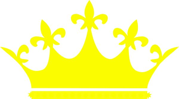 Crowns clipart yellow. Princess crown pencil and