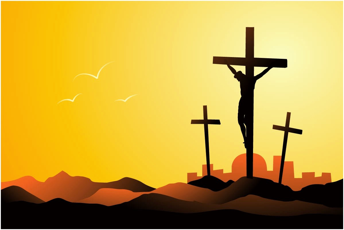 Crucifix clipart crucified jesus. On the cross best