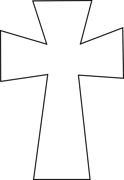 Crucifix clipart printable. Crosses clip art cross