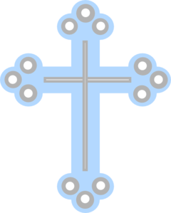 Crucifix vector baptism. Images of cross spacehero