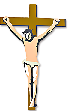 Crucifix vector cross mexican. Jesus crucified clipart at