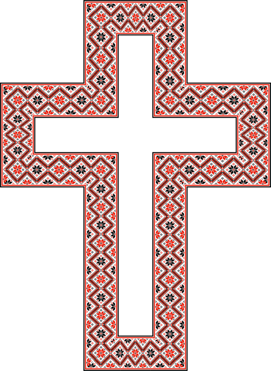 Crucifix vector wedding cross. Christian christianity drawing free
