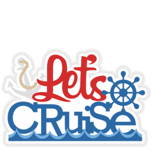 Cruise clipart. Let s title svg