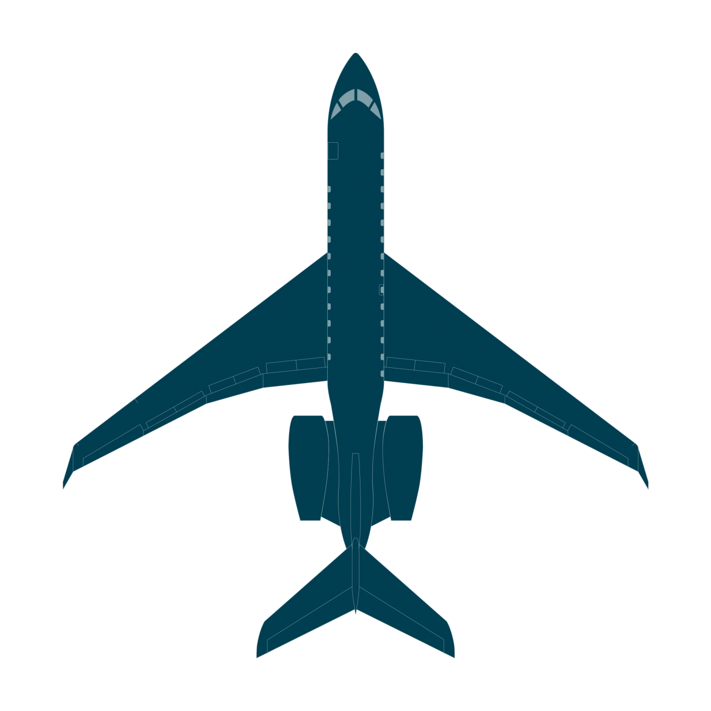 Cessna drawing plan view. Global bombardier business aircraft