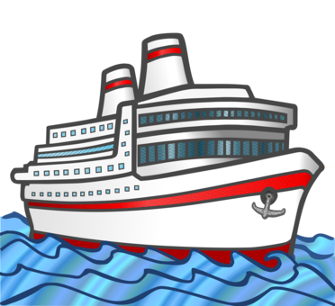 Cruise drawing colour. Transportation images under cc