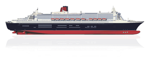 cruise drawing side view