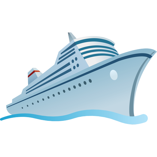 cruise ship vector png