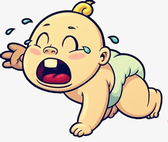 Crawling on the floor. Cry clipart baby shower baby graphic